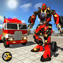 Police Robot Truck : Real Robot Transforming Game APK