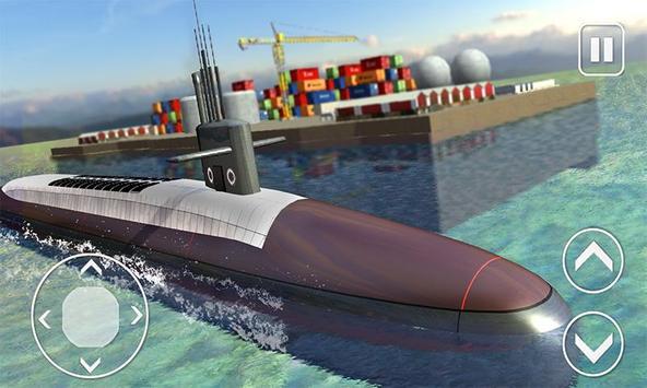Underwater Submarine Transport poster