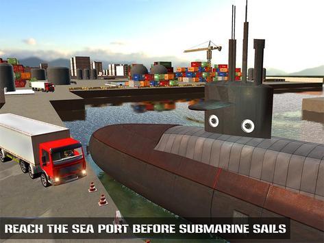 Underwater Submarine Transport apk screenshot