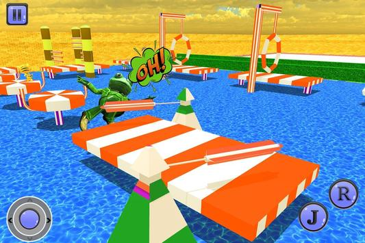 Crazy Frog Water Stunts screenshot 10