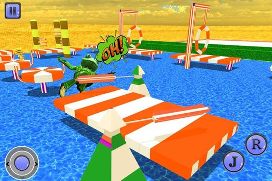 Crazy Frog Water Stunts screenshot 2