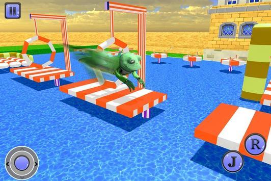 疯狂的青蛙水特技 截图 3
