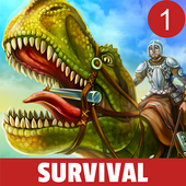 Menginstal Game Adventure android intelektual The Ark of Craft: Dinosaurs