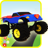 Monster Truck For Kid icon