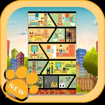 Apartment Room Decor Games poster