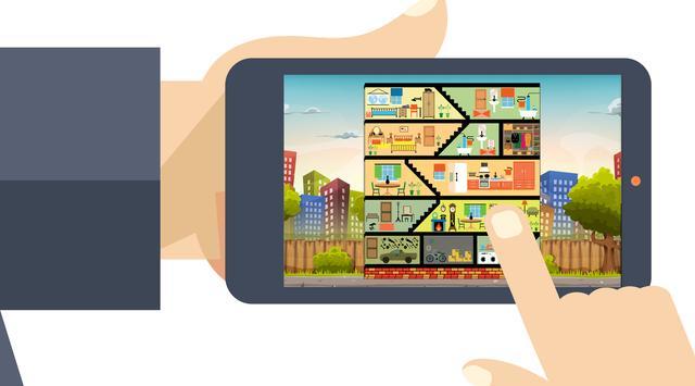 Apartment Room Decor Games screenshot 2
