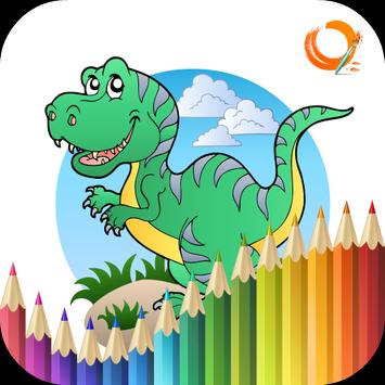 Dinosaur Coloring Book poster