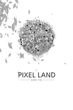 Pixel Land الملصق