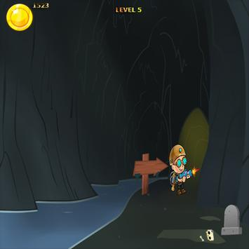 Super Adventurer Runner shoot apk screenshot