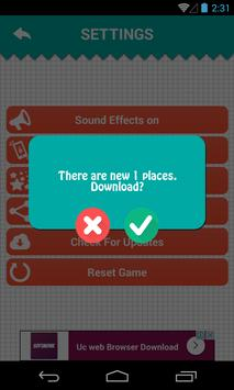 Guess the place in the world apk screenshot