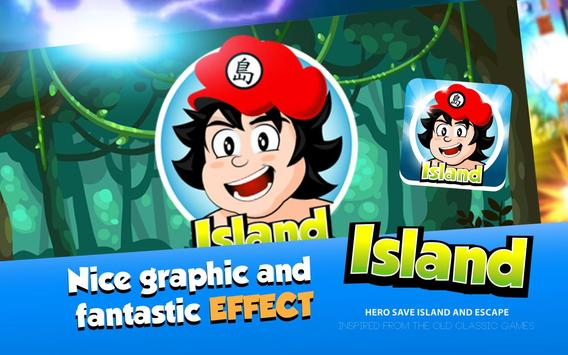 Hero Save Island – Jungle Run poster