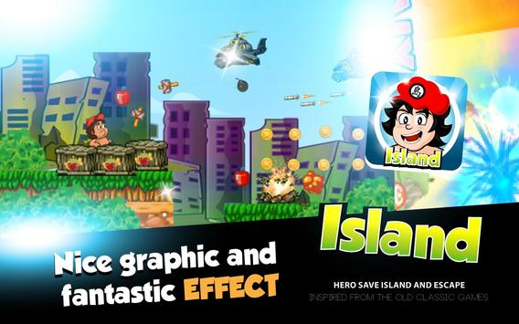 Hero Save Island – Jungle Run screenshot 1