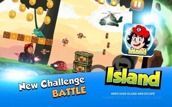 Hero Save Island – Jungle Run screenshot 2