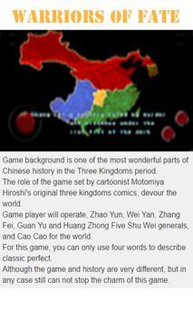Cheats Guide(for Warriors of Fate) screenshot 3