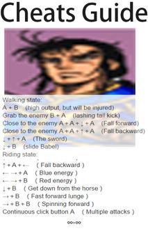 Cheats Guide(for Warriors of Fate) screenshot 1