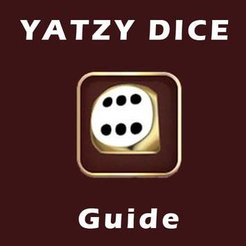 Guide for yatzy dice poster