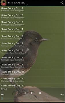 Suara Burung decu screenshot 5