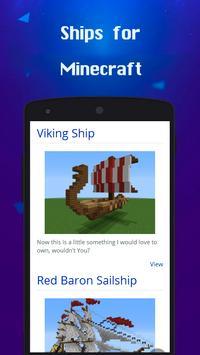Ships for Minecraft Ideas screenshot 1