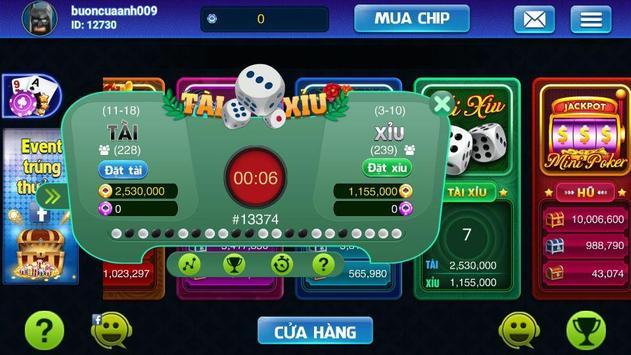 Xeng club - Game bai doi thuong hoang gia 2018 screenshot 3