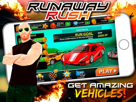 Runaway Rush 3D apk screenshot