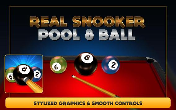 Real Snooker Poll 8 Ball Pro 2 apk screenshot