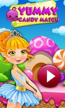 Fun Candy World Match Fun poster