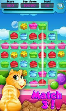 Fun Candy World Match Fun screenshot 2