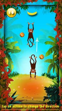 Crazy Monkey Free Banana Feed Game apk screenshot