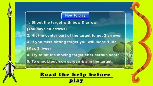 Archery Shooting Expert Bow And Arrow Free Game apk screenshot