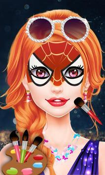 Halloween Face Paint Salon apk screenshot