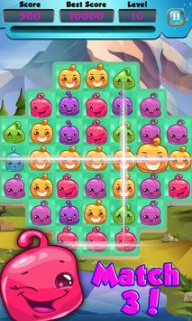 Halloween Bubbles Swap Free apk screenshot