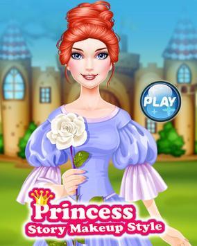 Princess Story Makeup Style poster