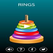 Ring Game - Rings Stack icon