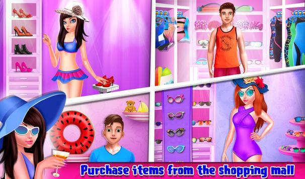 My Teen Love Story Summer Pool Party Affair apk screenshot