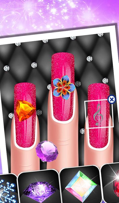 Fashion Doll Nail Art Salon Apk Download Free Casual Game For