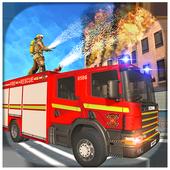 American FireFighter Truck Simulator Rescue 2018 icon