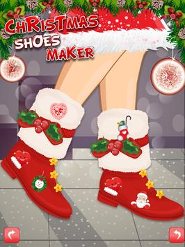 Christmas Shoes Maker 1 apk screenshot