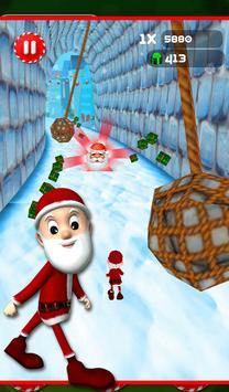 Santa running Dash Adventure screenshot 1