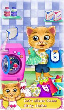 My Sweet Baby Kitty Care screenshot 1