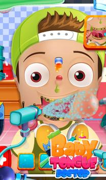 Baby Tongue Doctor screenshot 2