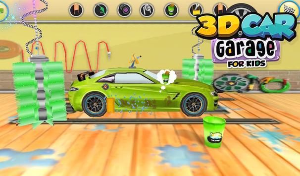 3d car garage for kids apk screenshot