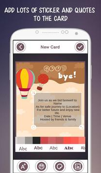 Farewell party invitation apk download free lifestyle app for farewell party invitation apk screenshot stopboris Images