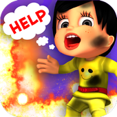First Aid Treatment - Burning icon