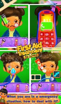 First Aid Treatment - Burning screenshot 2
