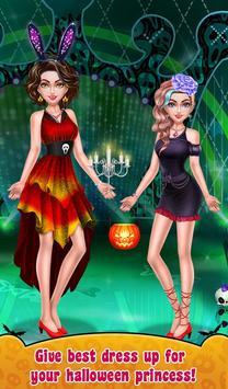Halloween Makeup Me Girls screenshot 14