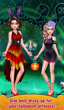 Halloween Makeup Me Girls screenshot 4