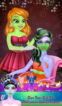 Halloween Makeup Time apk screenshot