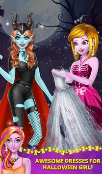 Halloween Ghost Girl Makeover screenshot 14