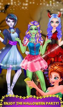 Halloween Ghost Girl Makeover screenshot 3