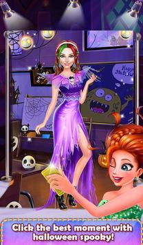 Halloween Spooky Girl Salon screenshot 4